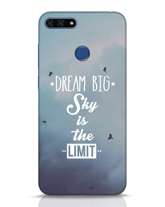 Shop Dream Big Huawei Honor 7A Mobile Cover-Front
