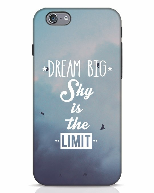Shop Dream Big iPhone 6s Mobile Cover-Front