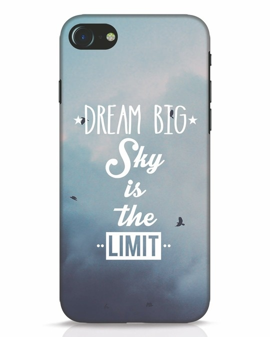 Shop Dream Big iPhone 8 Mobile Cover-Front