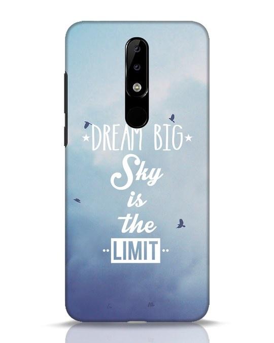 Shop Dream Big Nokia 5.1 Plus Mobile Cover-Front