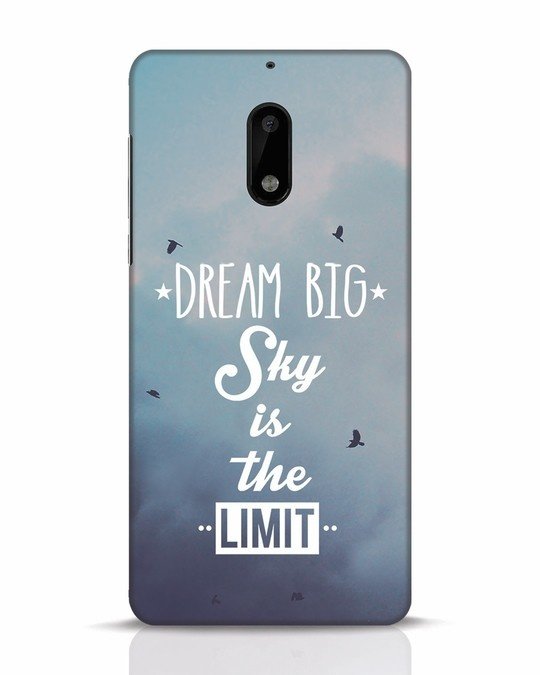 Shop Dream Big Nokia 6 Mobile Cover-Front
