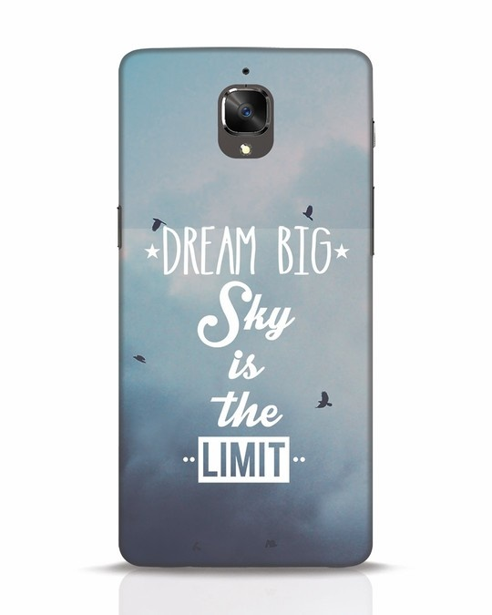 Shop Dream Big OnePlus 3 Mobile Cover-Front
