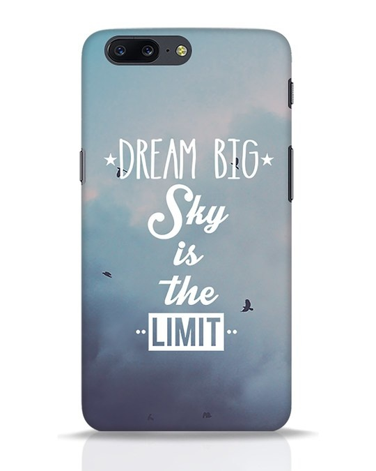 Shop Dream Big OnePlus 5 Mobile Cover-Front
