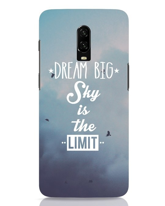 Shop Dream Big OnePlus 6T Mobile Cover-Front