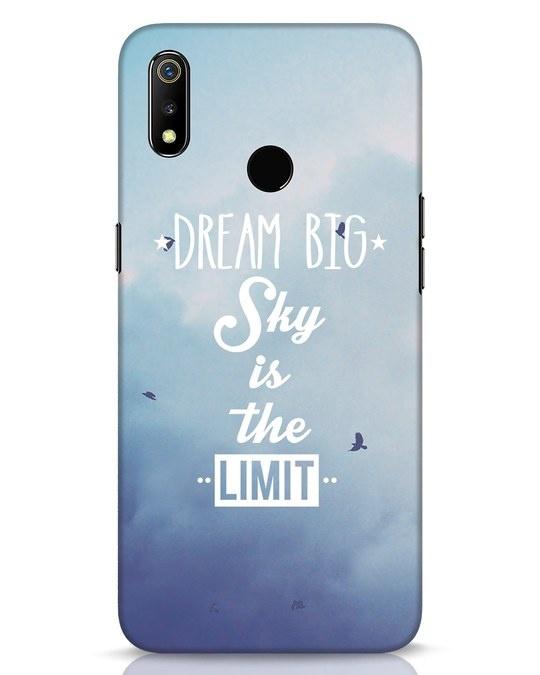 Shop Dream Big Realme 3 Mobile Cover-Front