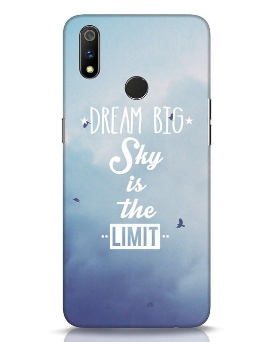 Shop Dream Big Realme 3 Pro Mobile Cover-Front