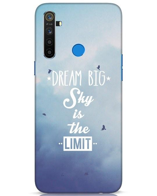 Shop Dream Big Realme 5 Mobile Cover-Front