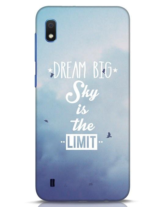 Shop Dream Big Samsung Galaxy A10 Mobile Cover-Front