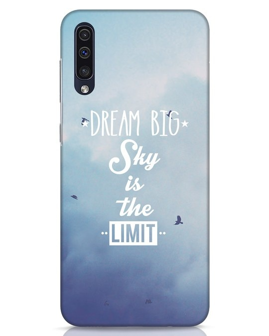 Shop Dream Big Samsung Galaxy A50 Mobile Cover-Front