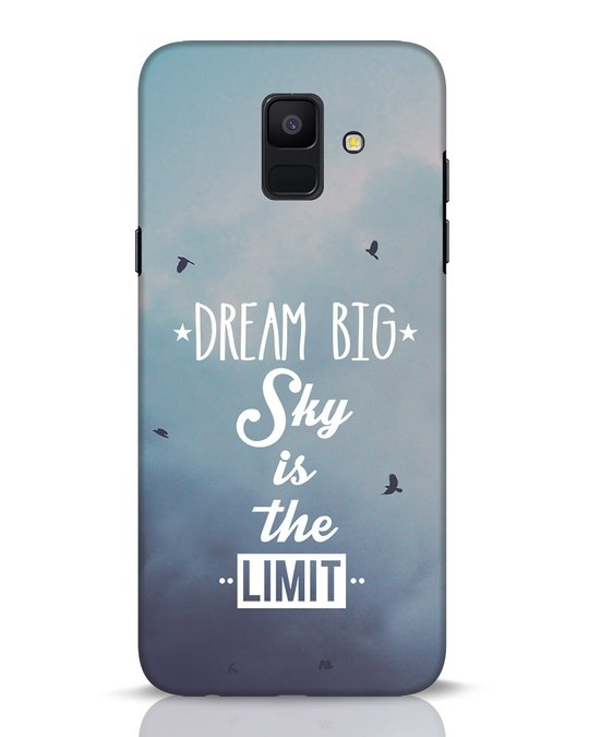Shop Dream Big Samsung Galaxy A6 2018 Mobile Cover-Front