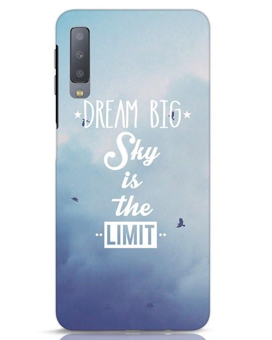 Shop Dream Big Samsung Galaxy A7 Mobile Cover-Front