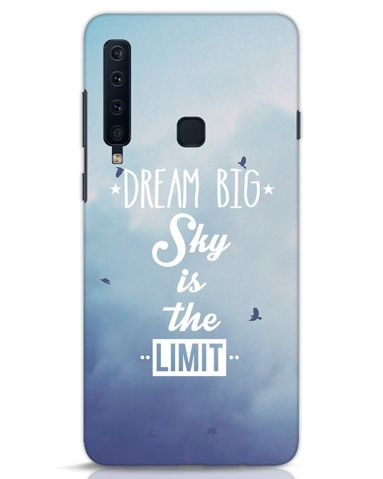 Shop Dream Big Samsung Galaxy A9 2018 Mobile Cover-Front