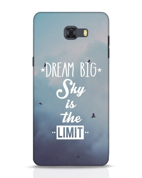 Shop Dream Big Samsung Galaxy C9 Pro Mobile Cover-Front