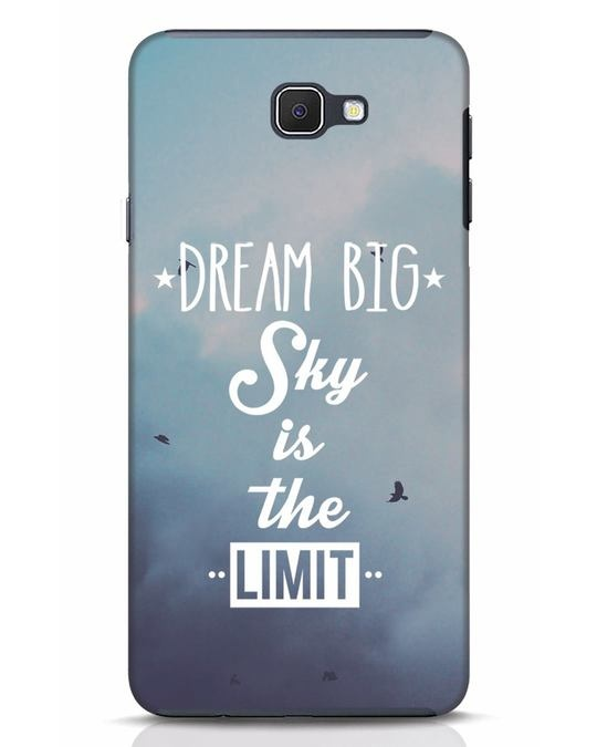 Shop Dream Big Samsung Galaxy J7 Prime Mobile Cover-Front
