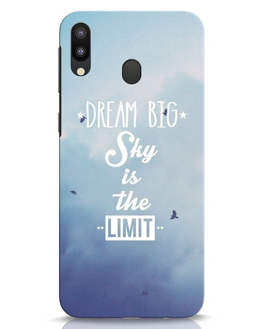 Shop Dream Big Samsung Galaxy M20 Mobile Cover-Front