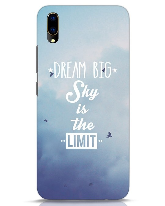 Shop Dream Big Vivo V11 Pro Mobile Cover-Front