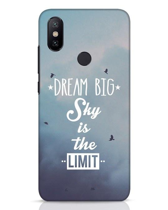 Shop Dream Big Xiaomi Mi A2 Mobile Cover-Front