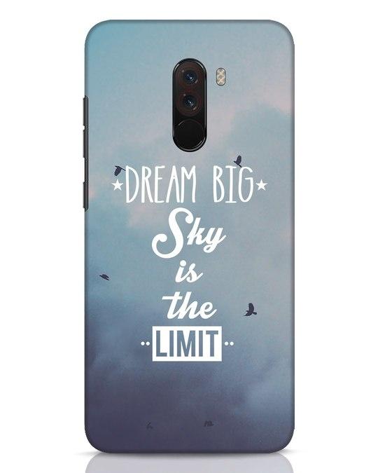 Shop Dream Big Xiaomi POCO F1 Mobile Cover-Front