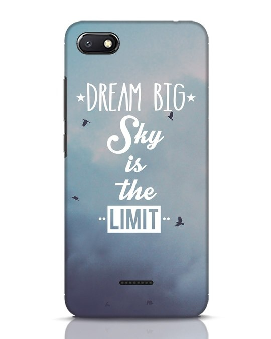 Shop Dream Big Xiaomi Redmi 6A Mobile Cover-Front