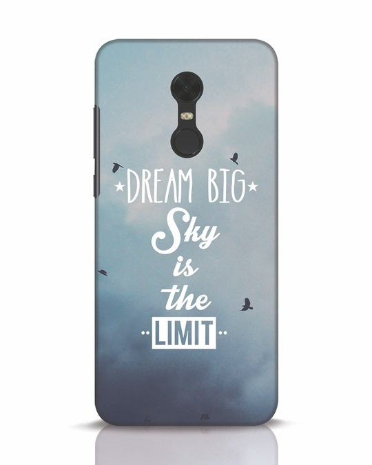 Shop Dream Big Xiaomi Redmi Note 5 Mobile Cover-Front