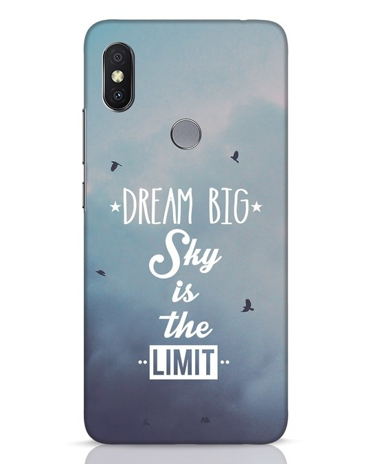 Shop Dream Big Xiaomi Redmi Y2 Mobile Cover-Front