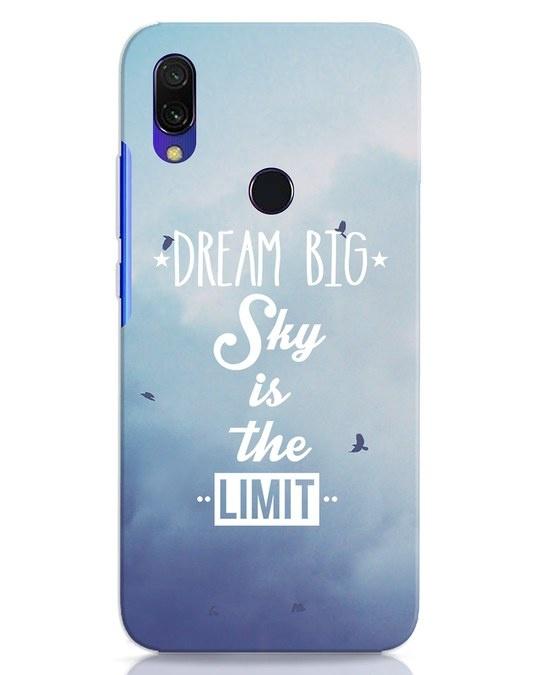 Shop Dream Big Xiaomi Redmi Y3 Mobile Cover-Front