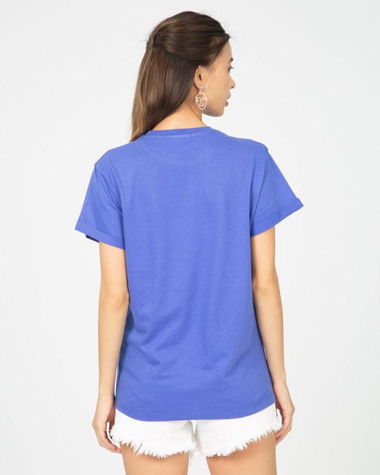 Shop Dream Feather Boyfriend T-Shirt-Back