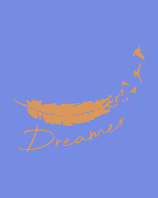 Shop Dream Feather Boyfriend T-Shirt