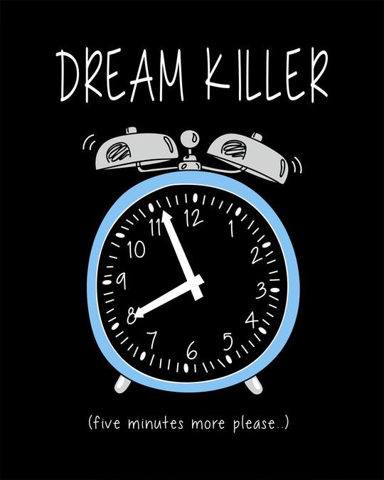 Shop Dream Killer Round Neck 3/4th Sleeve T-Shirt