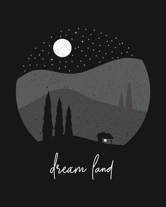 Shop Dream Land Half Sleeve T-Shirt-Full
