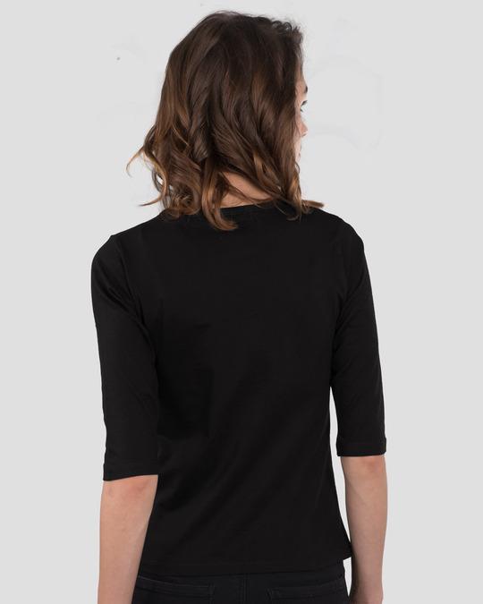 Shop Dream Land Round Neck 3/4th Sleeve T-Shirt-Back