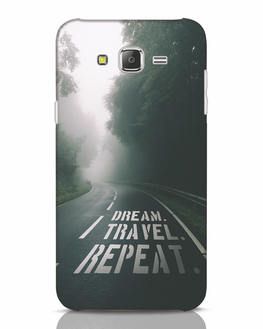 Shop Dream Travel Repeat Samsung Galaxy J7 Mobile Cover-Front