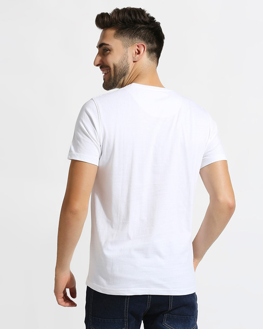Shop Official DC: Casual White T-Shirt with Logo-Design