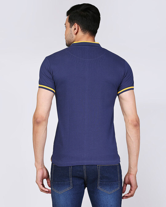 Shop Official RR: Royal Fan Polo (Blue)-Back