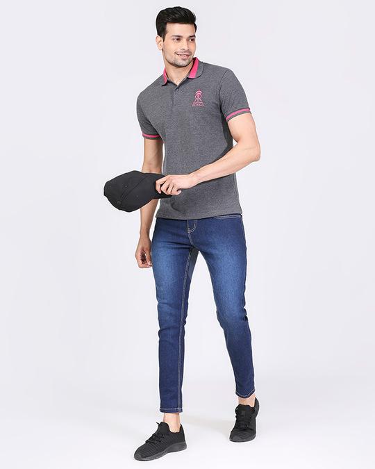 Shop Official RR: Royal Fan Polo (Grey)-Design