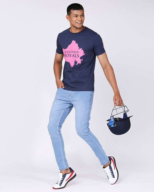 Shop Official RR: Royals Navy and Pink T-shirt-Design