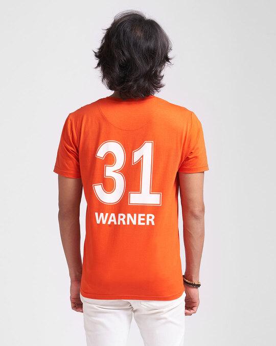 Shop Official SRH: Warner Fan Jersey (Orange)-Front