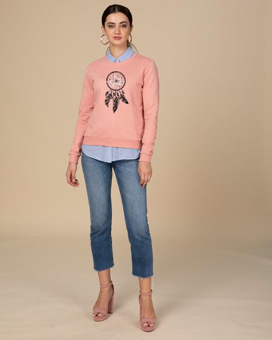 Shop Dreamcatcher Free Spirit Fleece Sweater-Design