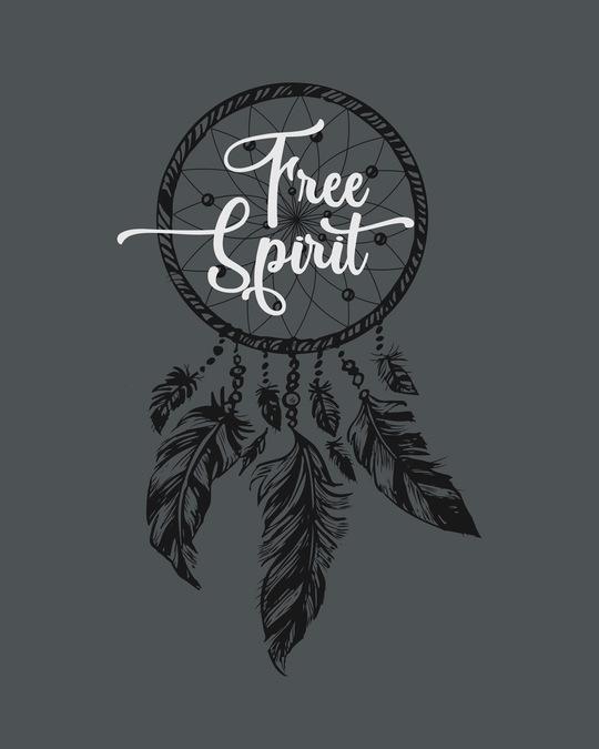 Shop Dreamcatcher Free Spirit Round Neck 3/4th Sleeve T-Shirt-Full