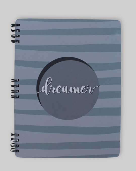 Shop Dreamer 3d Spiral Notebooks-Front