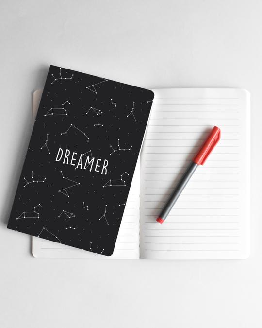Shop Dreamer Constellations Soft Bound Notebook-Front