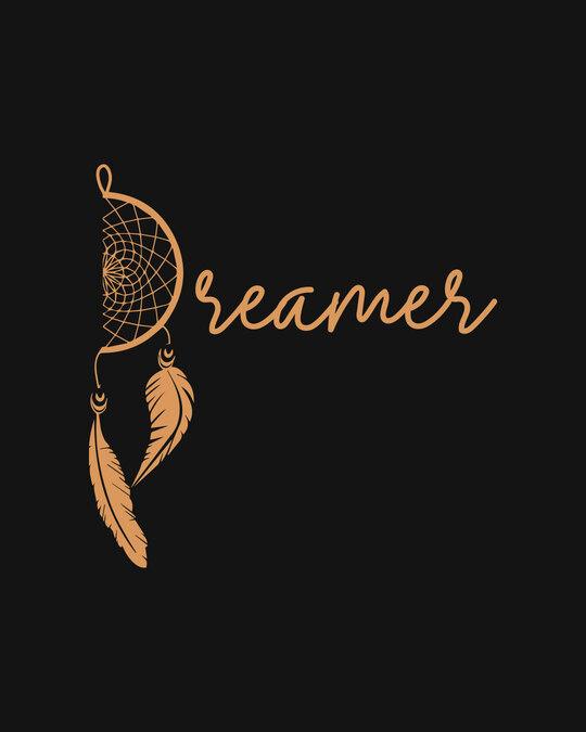 Shop Dreamer Feathers Boyfriend Varsity Rib H/S T-Shirt Multicoclor-Full