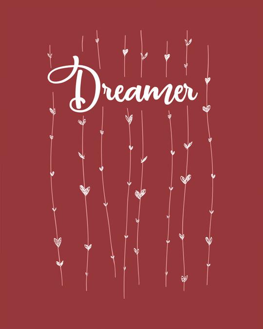 Shop Dreamer Hearts Boyfriend T-Shirt