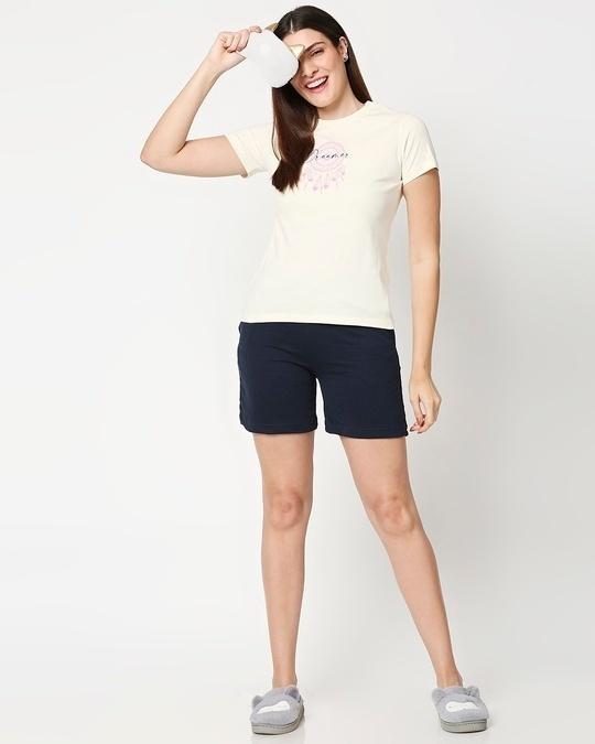 Shop Dreamer Leaves Women's Lounge T-Shirt