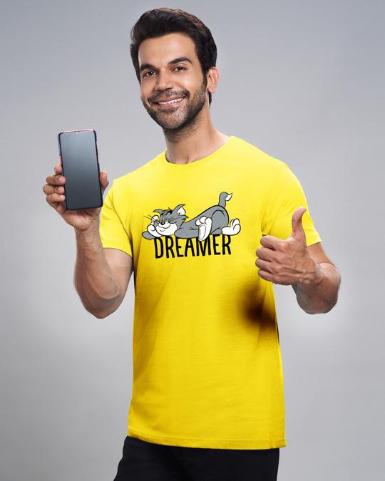 Shop Dreamer Tom Half Sleeve T-Shirt (TJL)-Front