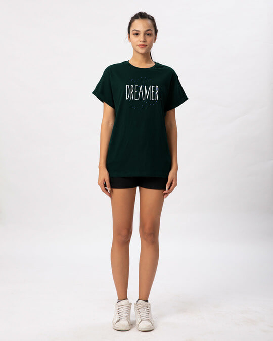 Shop Dreamer Typo Boyfriend T-Shirt