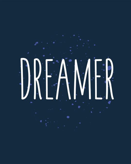 Shop Dreamer Typo Boyfriend T-Shirt