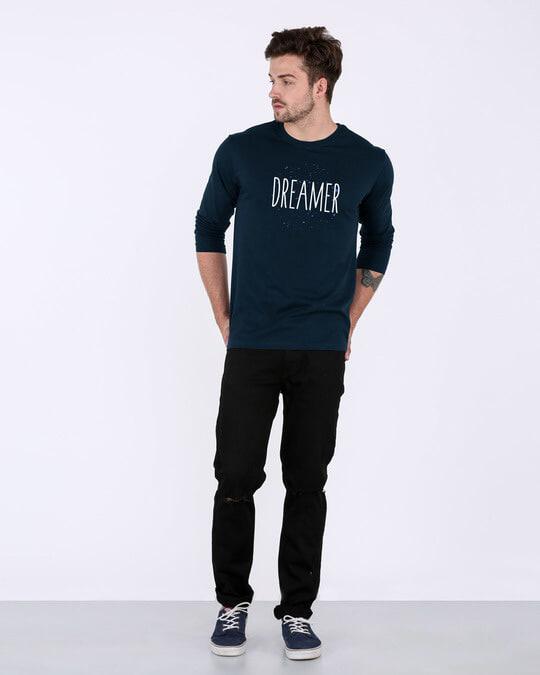 Shop Dreamer Typo Full Sleeve T-Shirt