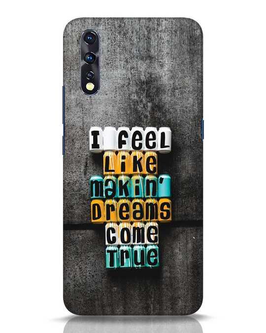 Shop Dreams Come True Vivo Z1x Mobile Cover-Front