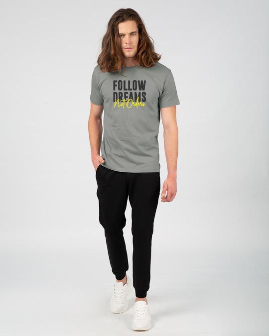 Shop Dreams Or Orders Half Sleeve T-Shirt-Full